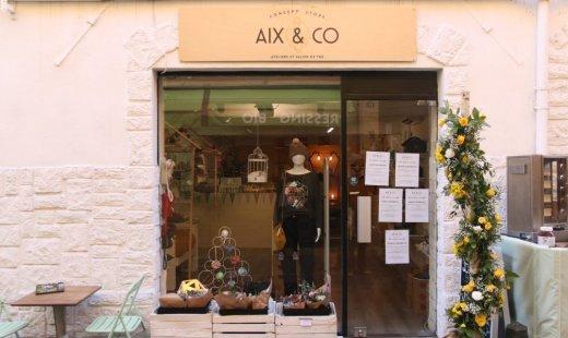 Aix and Co – Concept Store créateurs & salon de thé