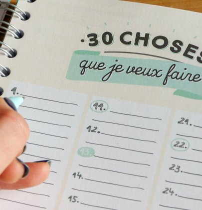30 choses que je veux faire en 2021
