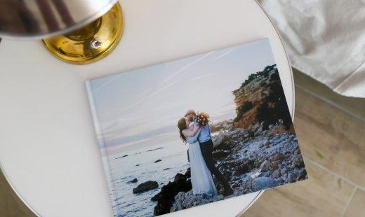 Livre photos CEWE – Shooting d'inspiration mariage