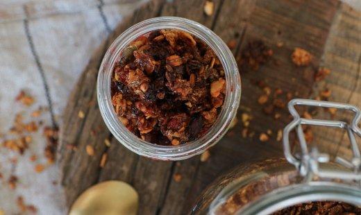 Recette de granola healthy