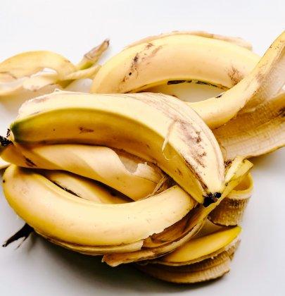 Astuce zéro déchet: engrais naturel avec des peaux de bananes