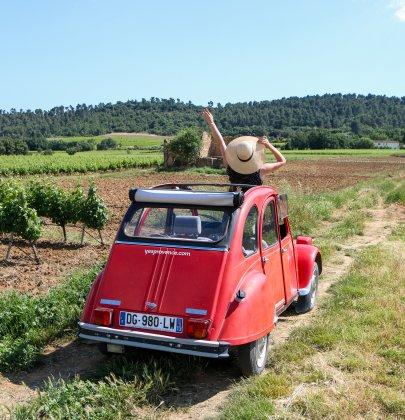 Découvrir le Luberon en 2CV avec Yes Provence